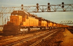UP Under the signal tower in 1970
